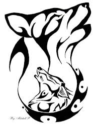 34 best cartoon wolf tattoo designs images on pinterest wolves