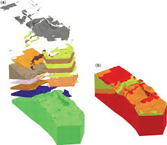 the modelling and visualization of digital geoscientific data as a