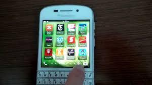 themes mobile black berry walkthrough apps and dark theme on white blackberry q10 youtube