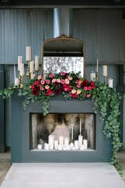 Wedding Decoration Home by Best 25 Wedding Fireplace Decorations Ideas On Pinterest