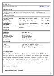 mca resume format for freshers pdf mca resumes europe tripsleep co