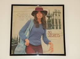 vintage photo albums framed vintage record album cover simon no secrets