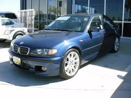 for sale sold 2005 bmw 330 zhp sedan steel blue metallic 6mt