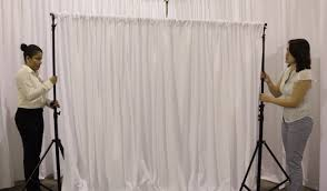 wedding backdrop setup pipe and drape backdrops with free shipping nationwide for