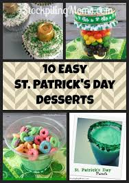 10 easy st patrick u0027s day desserts