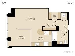 Chicago Apartment Floor Plans Studio 1 Bath Apartment In Chicago Il 215 West Apartments