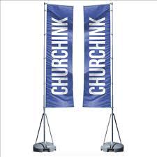 church banner flags 13 foot mega flag banner