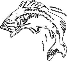 guitar coloring pages to print bass fish coloring pages getcoloringpages com