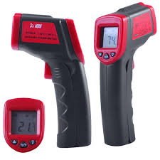 hde temperature gun infrared thermometer w laser sight amazon