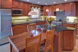 waypoint living spaces style 420 in maple cognac kitchen