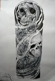 skull sleeve ideas 1000 images about ideas on