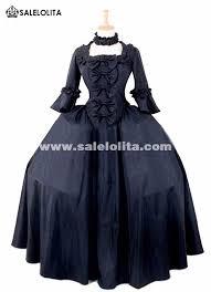 Colonial Halloween Costume Brand Black Gothic Victorian Vampire Halloween Party Dresses