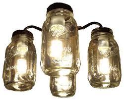 hunter mason jar ceiling fan lovely ceiling fan with mason jar lights brilliant decoration light