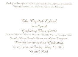 graduation ceremony invitation template grad invite template