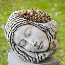 Tierra Verde Planter by Campania International Inc Cast Stone Statue Planter U0026 Reviews