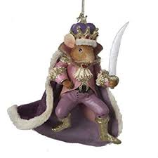 kurt adler 4 5 nutcracker suite mouse king ornament