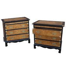 century furniture chin hua style nightstands ebonized maple and