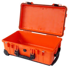 Colors Orange Pelican 1510 Colors Series Orange Carry On Protector Case With