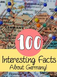 100 interesting facts about germany california globetrotter