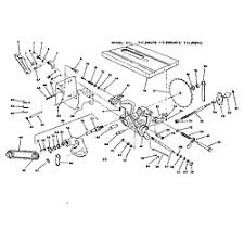 craftsman table saw parts model 113 craftsman model 113299142 saw table genuine parts