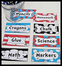 dr seuss inspired editable classroom decor package by julia rother
