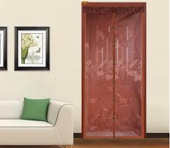 Magnetic Fly Screen For French Doors by Fuya New Magnetic Magic Door Screen Sheer Door Curtain Anti