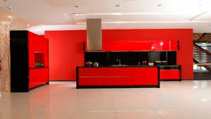 Red Lacquer Kitchen Cabinets Lacquer Kitchen Cabinets Oppein - Red lacquer kitchen cabinets