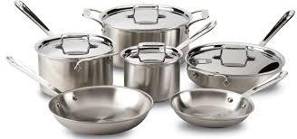 home pans all clad cookware set u2013 10 pcs u2013 san francisco food