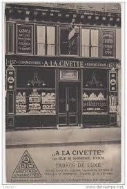 carte bureau de tabac à la civette le plus vieux bureau de tabac parisien bureau de