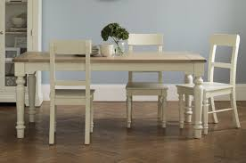 White Kitchen Table by Made To Order Furniture Dorset White Range Laura Ashley
