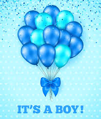 it s a boy baby shower it s a boy baby shower background stock vector illustration of