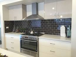 kitchen splashbacks ideas black and white kitchen design ideas including backsplash tiles for