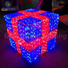 Decorative Christmas Boxes With Lights by Gift Box Light Xmas Holiday Decoration Light Shopping Mall Decor