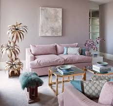 pink turquoise brass gold living room random pink things