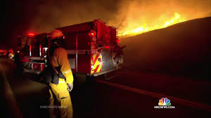 California Wildfire Rocky Fire by Cooler Temps Help California Firefighters But Wildfire Battle Far