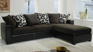 canapé d angle en tissu pas cher canape d angle noir tissu maison design wiblia com
