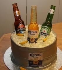 Liquor Bottle Cake Decorations Ice Bucket U0026 Beer Cake Cakes U0026 Cake Decorating Daily