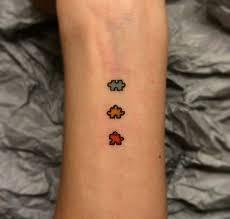 autism puzzle tattoo forearm tatoos pinterest puzzle tattoos