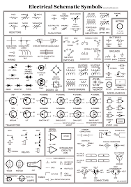electrical schematic symbol wiring diagram components