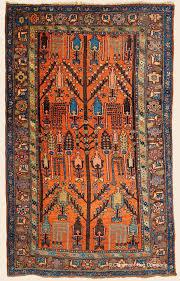 Antique Persian Rugs by Kurdish Bijar Tree Of Life Northwest Persian Antique Rug