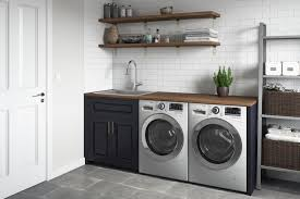 how to install base cabinets in laundry room topmount laundry 22 x 22 x 12 utility sink 16
