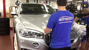 Bmw X5 Colors - full hood paint protection film xpel installation by extreme