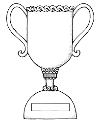 Trophy Coloring Page Getcoloringpages Com Cup Coloring Page