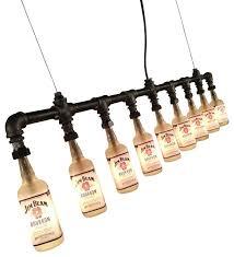 Lighting Fixtures Industrial by Spirit Of Kentucky Jim Beam Bottle Light Fixture Industrial