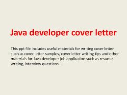 Sample Resume For 2 Years Experienced Java Developer by Javadevelopercoverletter 140228014755 Phpapp02 Thumbnail 4 Jpg Cb U003d1393552100