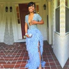 mermaid prom dress pink feathers prom dresses dressesss