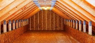 attic ideas attic storage ideas wall shelving doityourself com