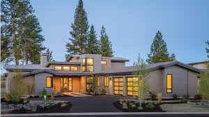 contemporary homes plans home plan homepw77112 3217 square foot 4 bedroom 3 bathroom