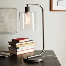 lens table lamp west elm