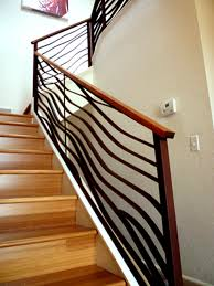 Banister Lake Stairway Railings And Banisters Visit Rustic Railing Http